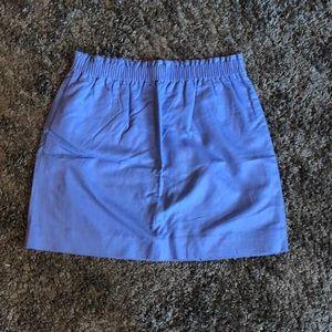 J. Crew Factory Sidewalk Skirt (Periwinkle)
